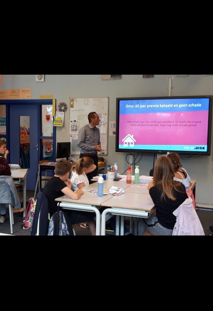 Header afbeelding voor Rabout & Partners gaf eerste gastles Basisschool Op Dreef